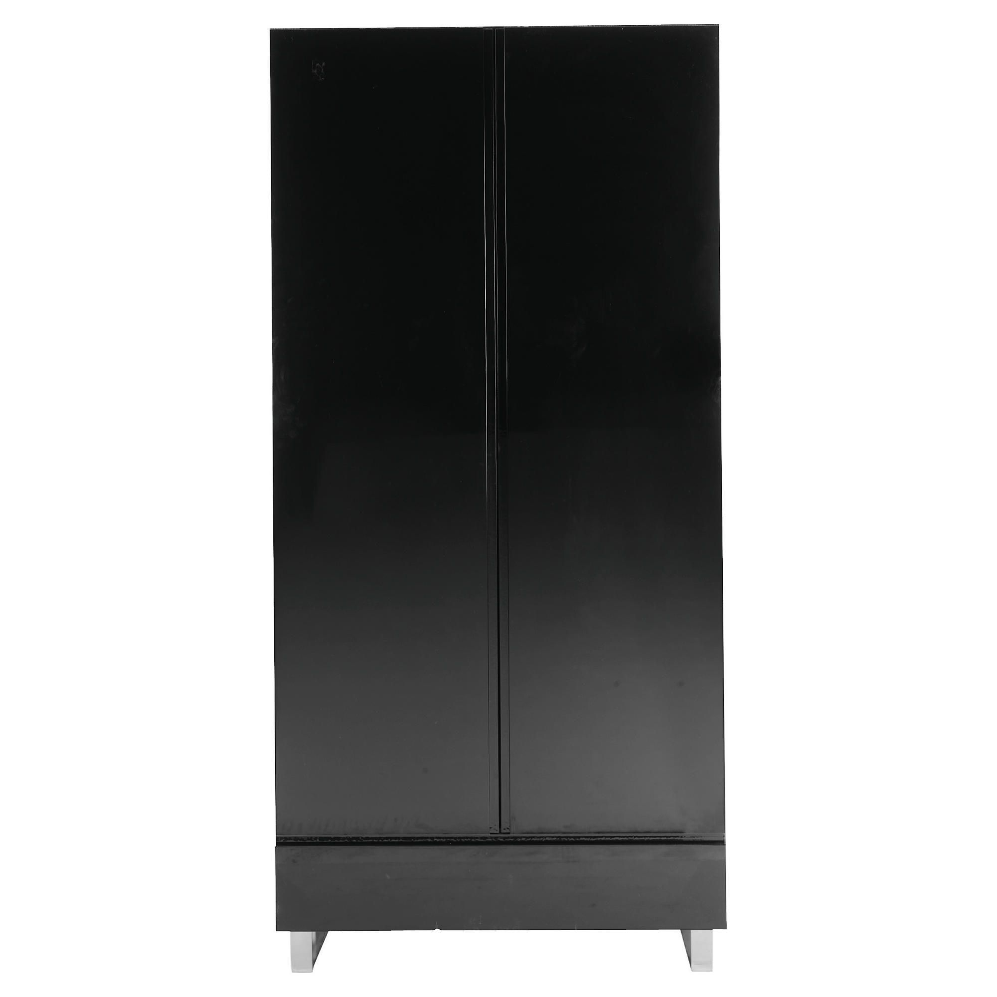 Urban Double Wardrobe, Black at Tesco Direct