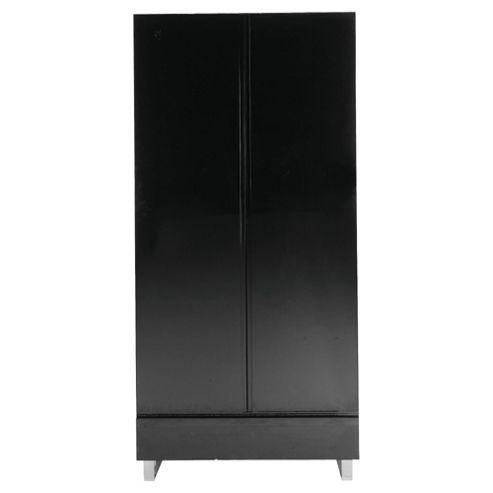 Urban 2 Door Wardrobe, Black