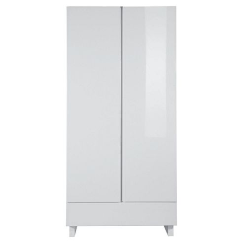 Urban 2 Door Wardrobe, White