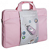 TechAir Classic 15.6 incn sleeve and mouse bundle - Pink