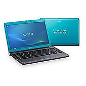 "Sony Y11MIE/L Laptop (Intel Pentium, 4Gb, 320Gb, 13.3"" Display) Blue"