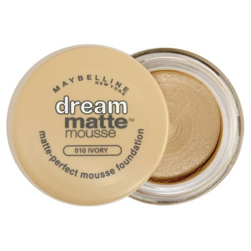 Maybelline Dream Matte Mousse Foundation 010 Ivory