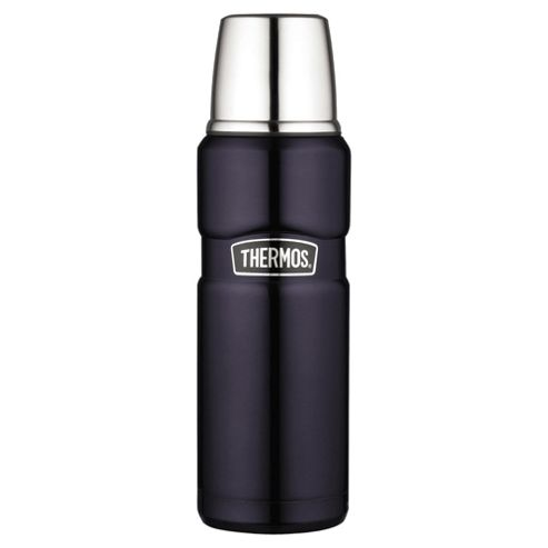 Thermos 0.47L Stainless King Flask, Blue