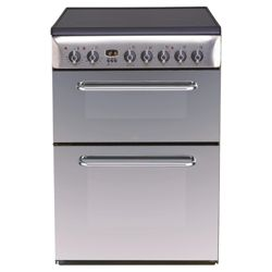 Indesit KDP60C Stainless Steel 60cm Electric Range Cooker