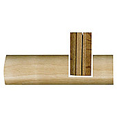 Westco real wood floor trim reducer oak