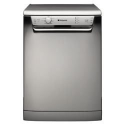 Hotpoint FDL570X Full Size Dishwasher, A Energy Rating. Stainless steel