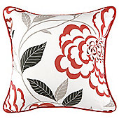 Tesco Set of 2 Peony Cushion Covers, Raspberry