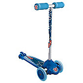 Twist And Roll 3-Wheel Scooter, Blue