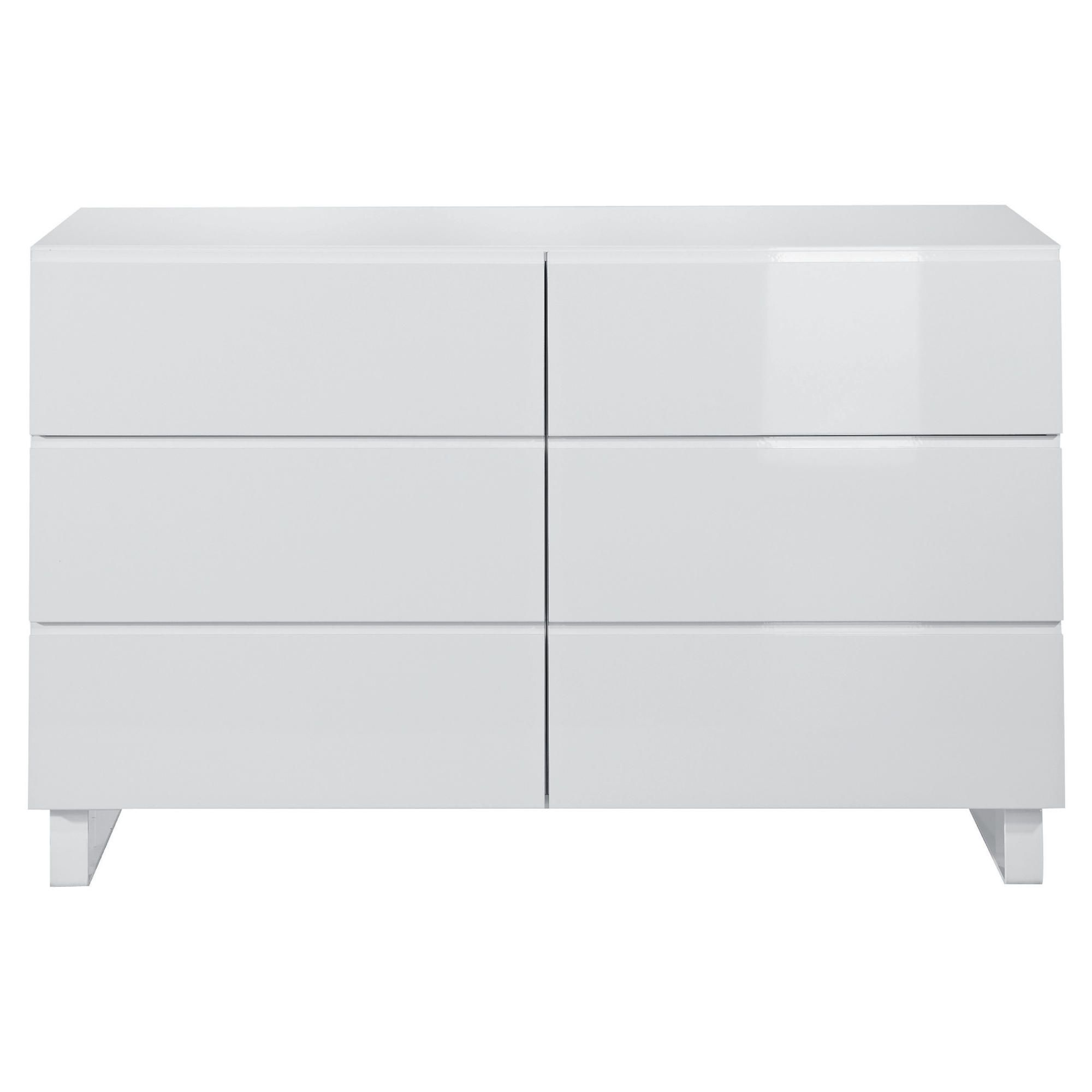 Urban 6 Drawer Chest, White at Tesco Direct