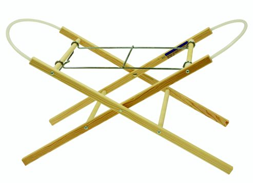 East Coast Moses Basket Stand Natural