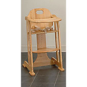 East Coast All Wood Multi Height Highchair, Antique
