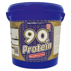 Nutrisport 90+ Protein 2.5kg Strawberry