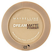 Maybelline Dream Matte Powder 03 Golden Beige