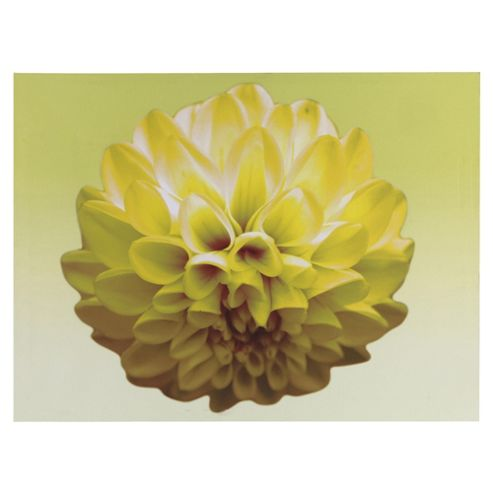 Yellow Flower Canvas