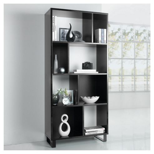 Urban 4 Shelf Bookcase Black
