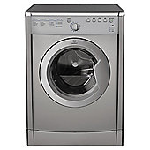 Indesit IDVA 735S Vented Tumble Dryer, 7Kg Load, C Energy Rating, Silver