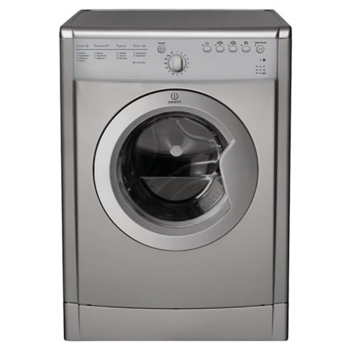 Indesit IDVA 735 S Vented Tumble Dryer, 7 kg Load, C Energy Rating Silver