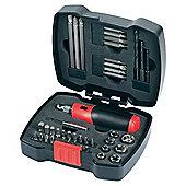 Black & Decker 42Pc Ratchet & Screwdriver Bit Set A7175-XJ