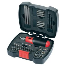 Black & Decker 42Pc Ratchet & Screwdriver Bit Set A7175-XJ