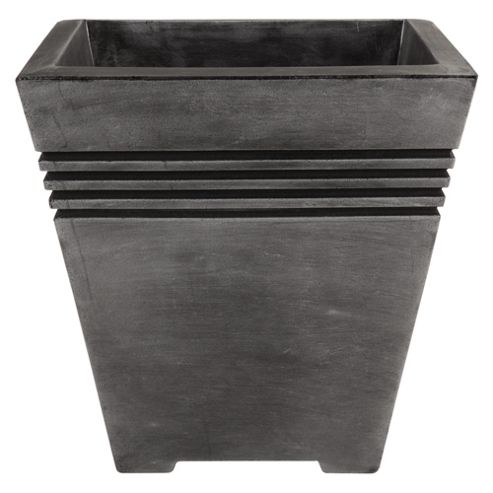 buy strata milano square planter from our planters range. Black Bedroom Furniture Sets. Home Design Ideas
