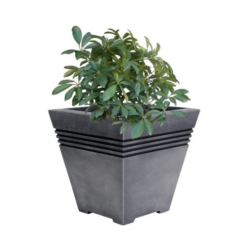 buy strata milano square planter 32cm from our planters. Black Bedroom Furniture Sets. Home Design Ideas