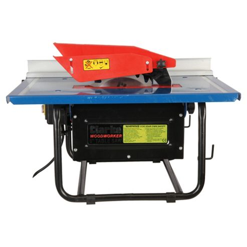 Buy Clarke Cts800b 8 Powerful Table Saw From Our Heavy Duty Saws Range Tesco