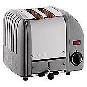 Dualit 20241 2 Slice Toaster - Metallic charcoal