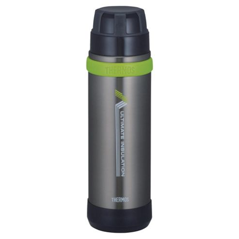 Thermos 0.5L Ultimate Stainless Steel Flask, Graphite
