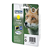 Epson Singlepack Yellow T1284 DURABrite Ultra Ink