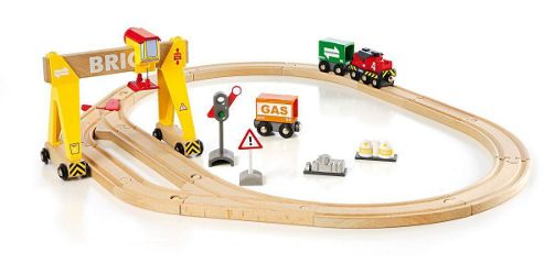 Brio Freight Crane Set, wooden toy
