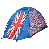 Tesco 2-Person Dome Tent, Union Flag
