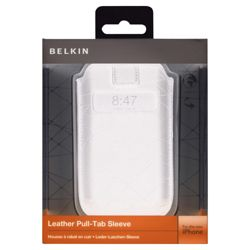 Belkin Leather case for iPhone 3G and 3GS Black