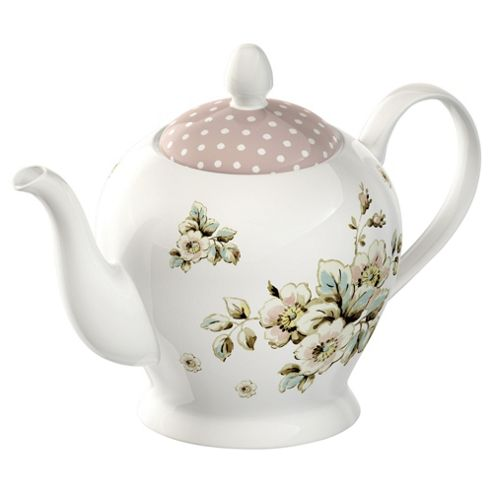 Katie Alice Cottage Flowers Tea Pot