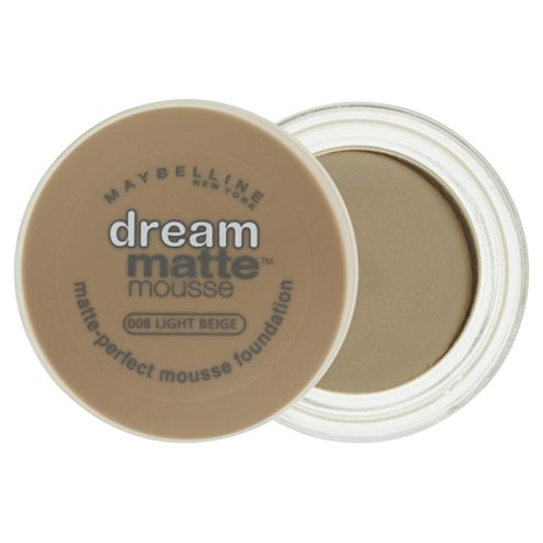 Maybelline Dream Matte Mousse Foundation Light Beige