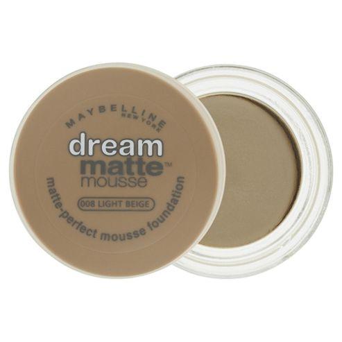 Maybelline Dream Matte Mousse Foundation Light Beige