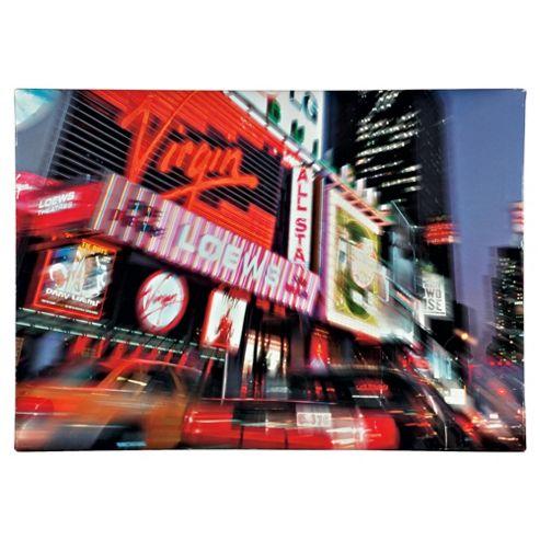 New York Nightlight Canvas 50X70Cm