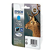 Epson T1302 printer ink cartridge - Cyan