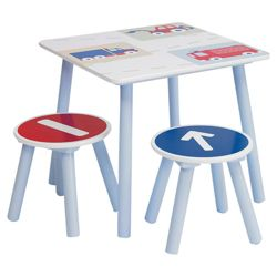 Vroom Vroom Table & Stools