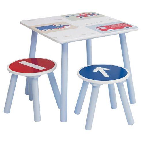 Vroom Vroom Table & Stools