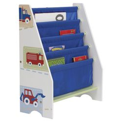 Vroom Vroom Sling Bookcase