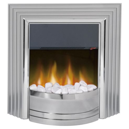 Dimplex Castillo Electric Fire, Silver