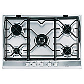 Indesit Prime Ip751Scix 75Cm Stainless Steel Cast Iron Gas Hob