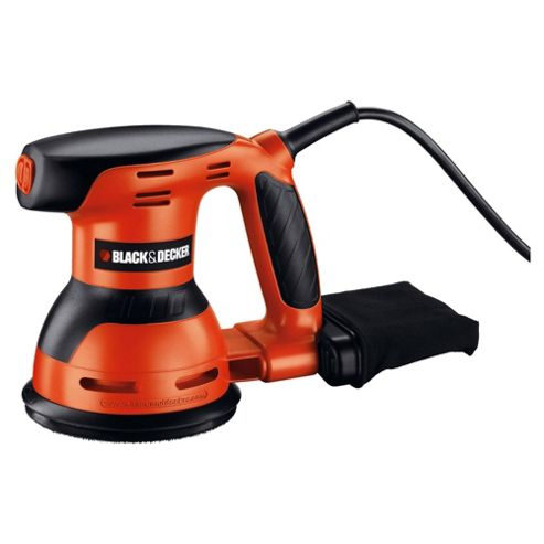 BLACK+DECKER 125mm ROS Sander KA198