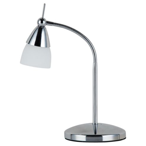 Tesco Lighting touch desk lamp chrome