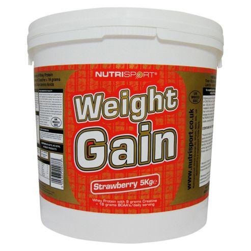 Nutrisport Weight Gain 5kg Strawberry