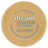 Maybelline Dream Matte Mousse Foundation 050 Sun Bronze