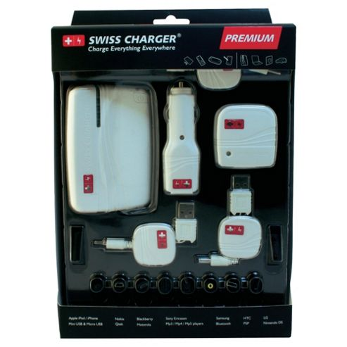 Swiss Hitech premium universal battery charger