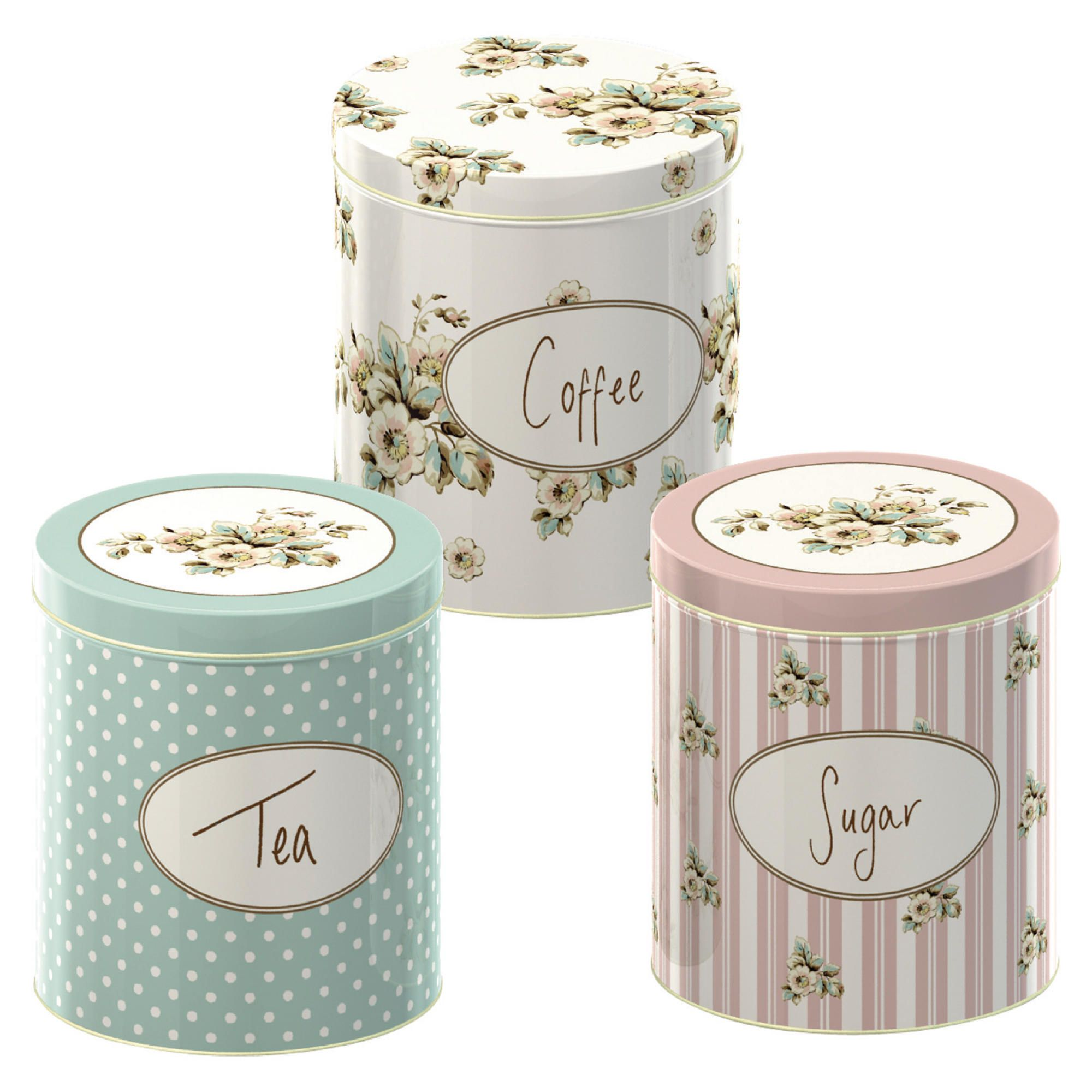 Creative Tops Katie Alice Cottage Flower Storage Tins (Set of 3)