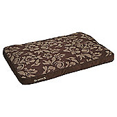 Scruffs Heritage pet bed chocolate