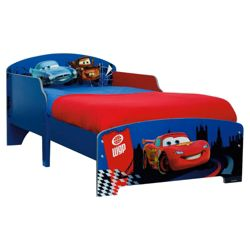 Cars 2 Toddler Bed Frame